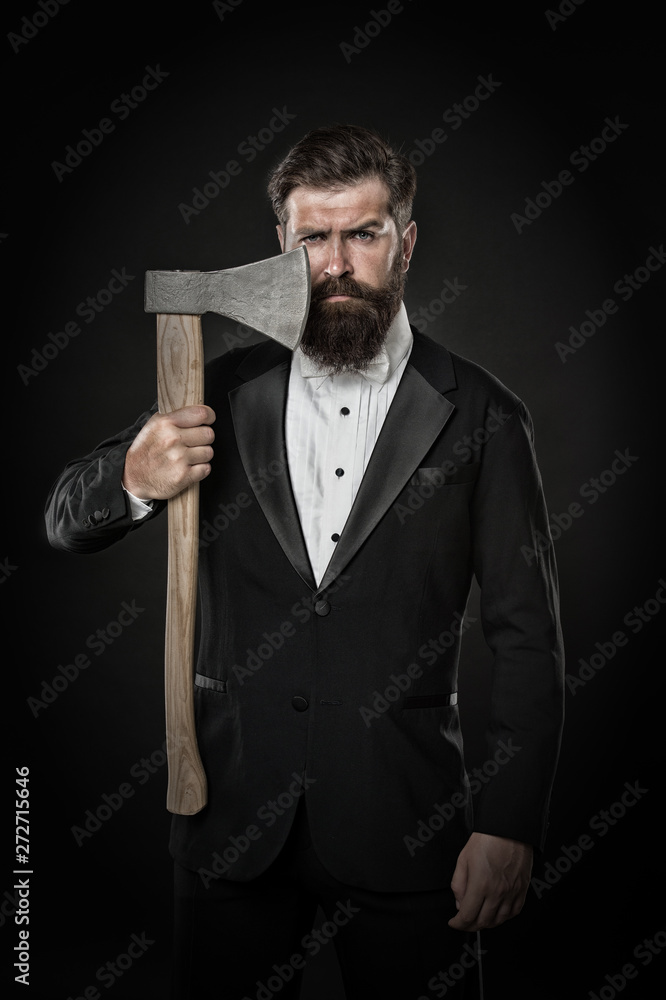 Fényképezés Shaving dangerous axe