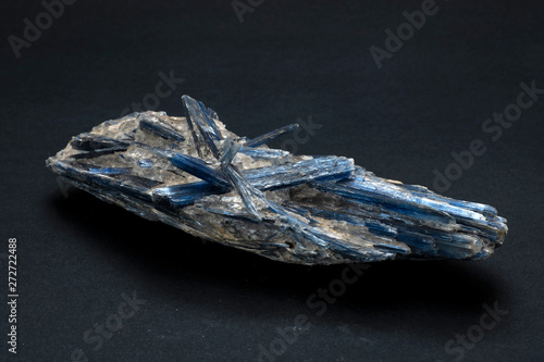 Photo Piece of Kyanite mineral from Brazil