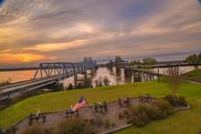 Bridge Crossing The Mississipp...