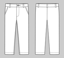 KIds Trousers Design Template....