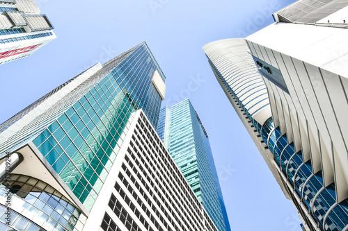 modern building in miami city florida usa america