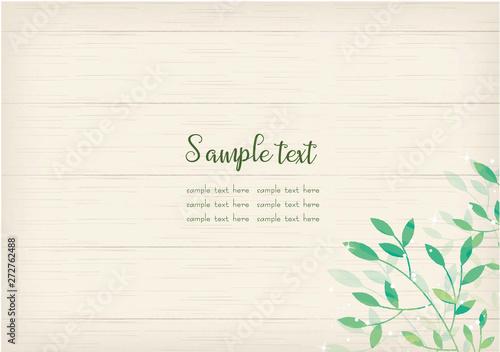 Leinwand Poster シンプルで使いやすい白木の背景素材