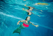 canvas print picture - Die kleine Meerjungfrau