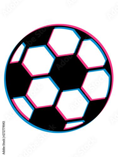 3d Fussball Spielen Ball Verein Schiessen Hobby Spass Sport