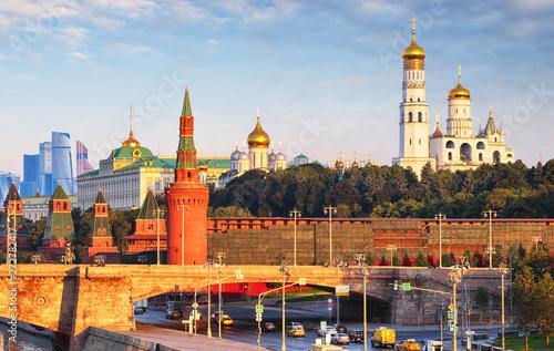 Fotografía  Moscow Kremlin at sunrise, Russia