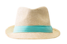 Straw Hat Isolated On White Ba...