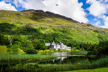 Kylemore Abbey With Reflection...