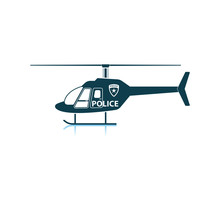 Police Helicopter Icon