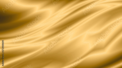 Photo Gold luxury fabric background with copy space