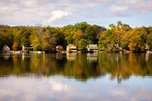 Autumn On A Lake