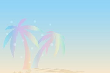Fototapeta na wymiar view summer beach and sea background