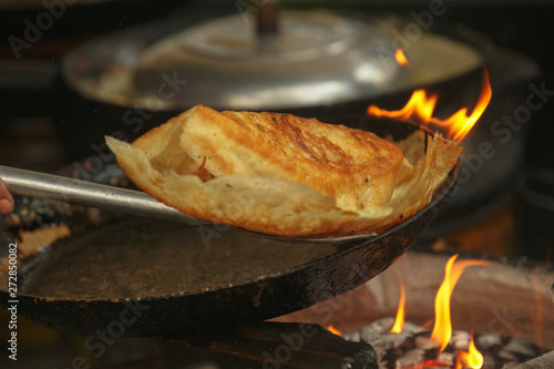 Photo  Vietnamese Banh Xeo crepes vietnamese pancake