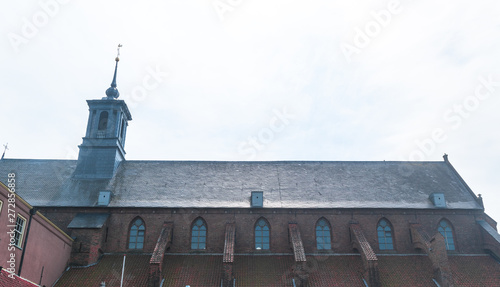 Photo sur Toile Con. Antique Broederen Church in Zutphen The Netherlands
