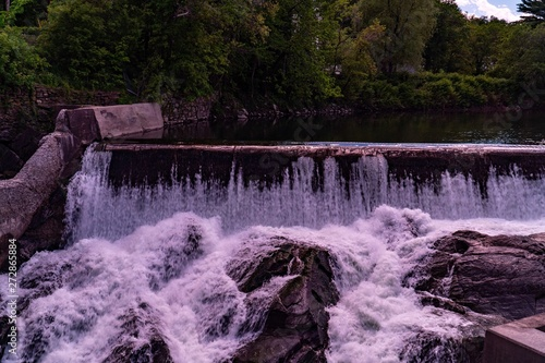 Waterfalls in Woodstock, VT
