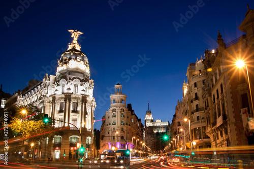 Staande foto Madrid Nice view from Madrid - Spain