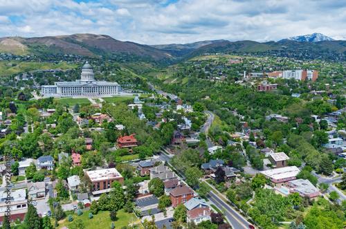 Utah State Capitol, in Salt Lake City, Utah, USA - 272881882