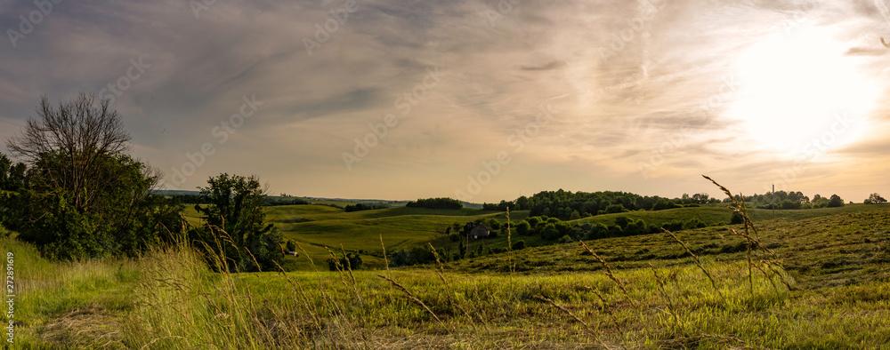Fototapeta Appalachian sunset on a ridgetop