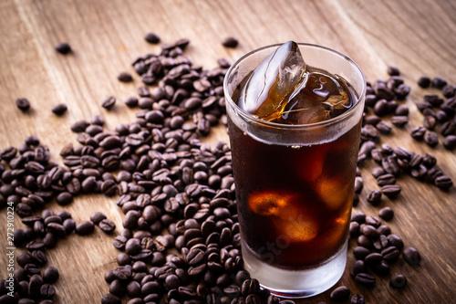 Fotografie, Obraz  アイスコーヒー