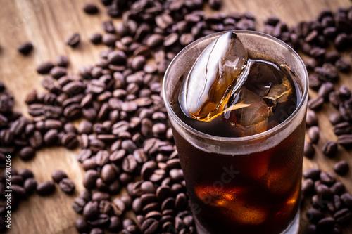 Obraz na plátně  アイスコーヒー