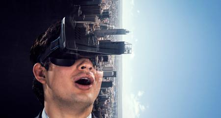Virtual reality experience....