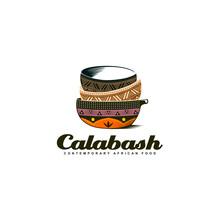 Bowl Calabasas Colorful Handmade Africa Logo Design Inspiration