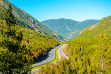 Interstate 70 (I-70) In The Ro...