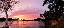 Dramatic And Colorful Sunset P...