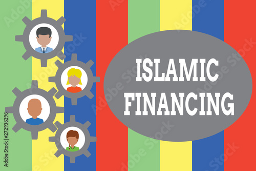 Text sign showing Islamic Financing  Business photo