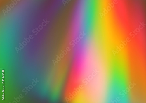 Abstract pink, yellow, blue, green and red lights background Canvas Print