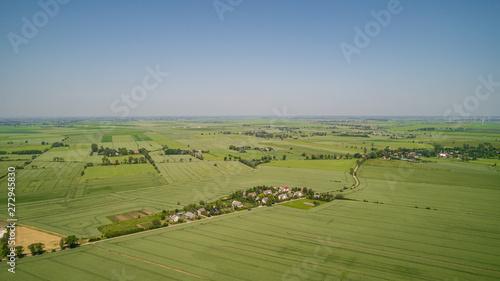 Fototapeta Panorama- Polska wieść obraz