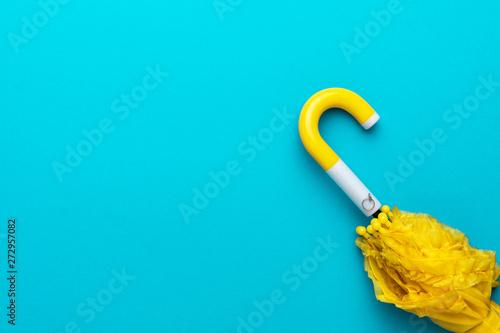Fotografie, Obraz  minimalist photo of folded umbrella