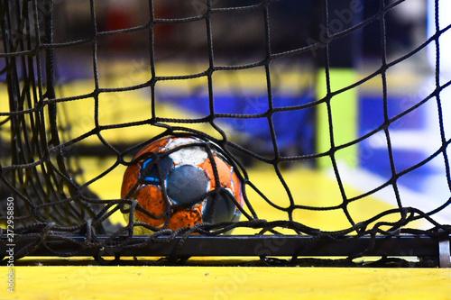 Fotografia Handball player holding a ball