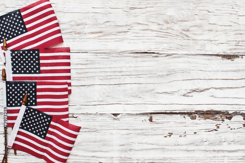 American Flags for the America's 4th of July Celebration