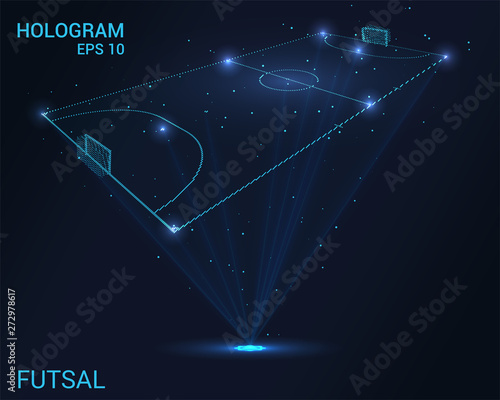 Photo Hologram Futsal