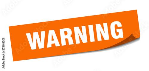 Photo  warning