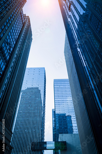 skyscrapers in the city of chongqing, china.
