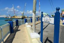 Sign Of Hog Sty Bay On Maritim...