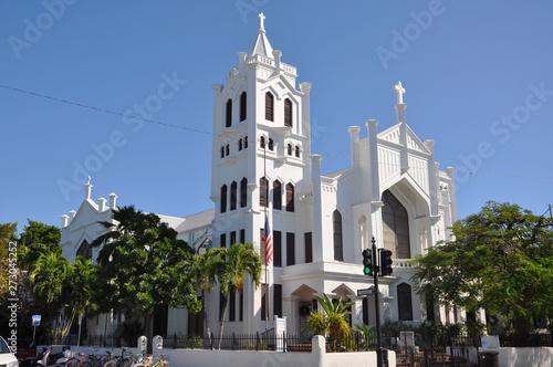 St Paul's Episcopal Church, Key West, Florida, USA.