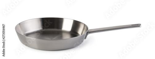 Fotografía Steel frying pan