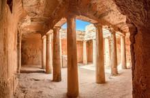 Cyprus. Pathos. Tombs Of The K...