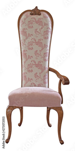 Vászonkép Sedia in stile classico luxury made in Italy artigianato