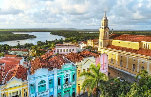 Photo sur Toile Brésil Centro Histórico