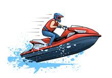 Vector Illustration Of A Man R...