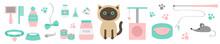 Cute Kawaii Siamese Cat. Stuff...