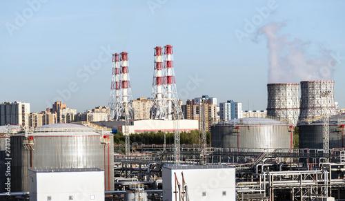 Petrochemical industrial, gas storage tank oil storage tanks