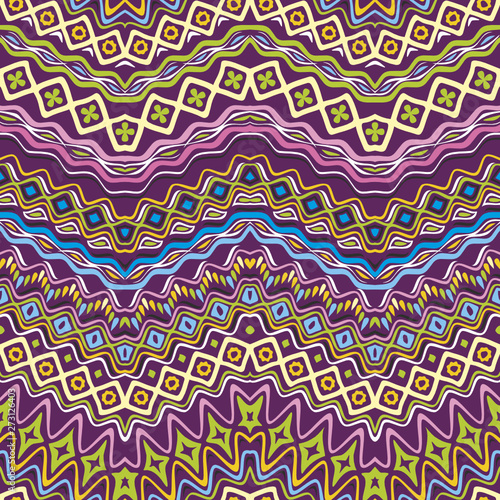 vector image for ethnic seamless pattern #273126403