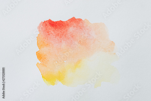 Arrière plan tâche de couleur aquarelle abstrait Tablou Canvas