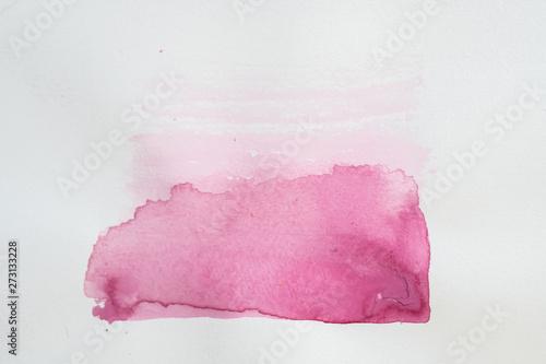Arrière plan tâche de couleur aquarelle abstrait Canvas-taulu