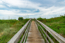 Beach Walkover At Villano Beach St. Augustine Florida