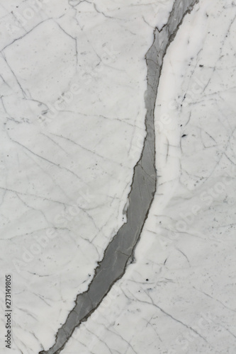 Stylish white marble background for design.